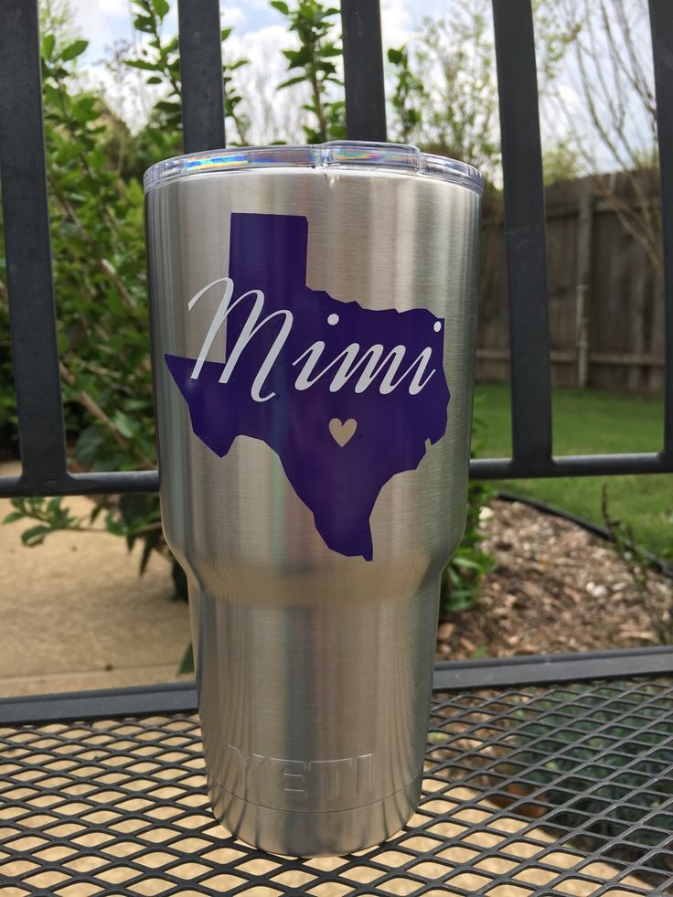 A personal favorite from my Etsy shop https://www.etsy.com/listing/286116113/texas-decal-for-yeti-car-laptop-phone