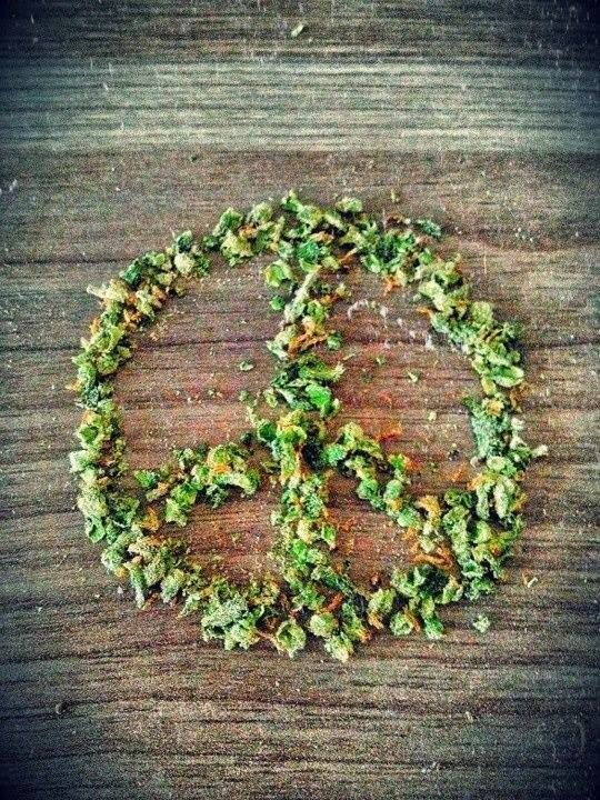 Peace ganja