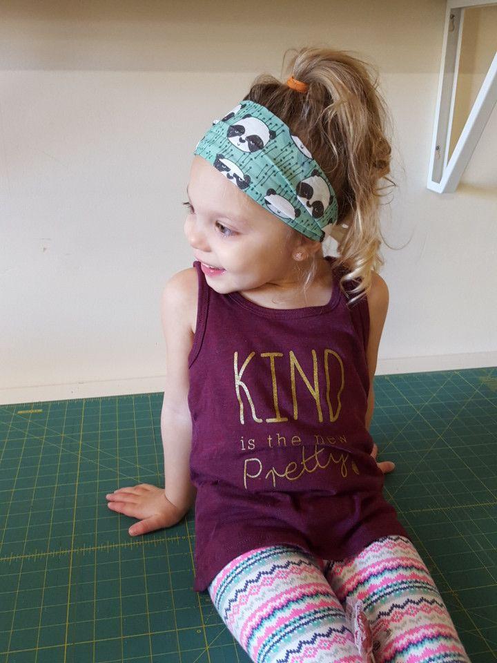 """Kind is the new pretty"" TANK - LITTLE GIRLS"