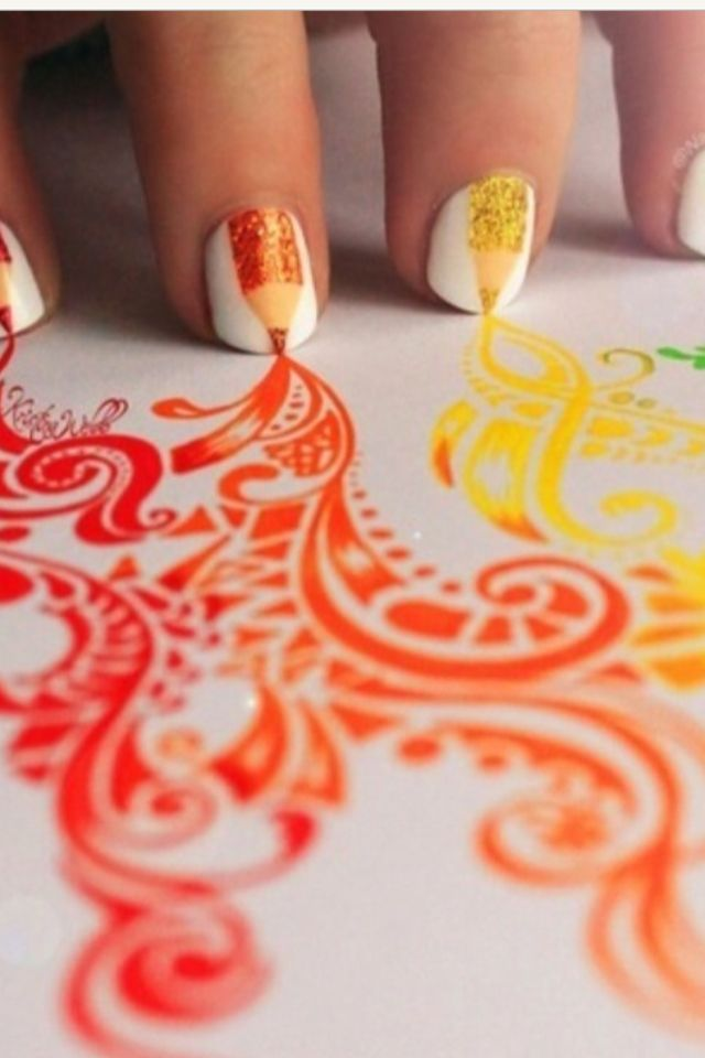 Nails who can who draw... That'd be perfect!