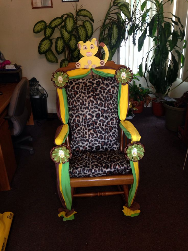 1000 Images About Baby Shower Chairs On Pinterest Sweet