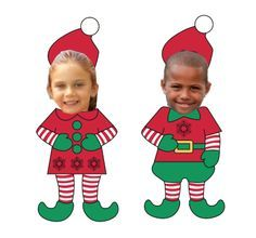 Download these cute templates and Elf yourself! Elf Ideas from the Elf Magic Elves