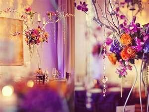 Wedding Inspirations: Orange, Green, and Purple Wedding