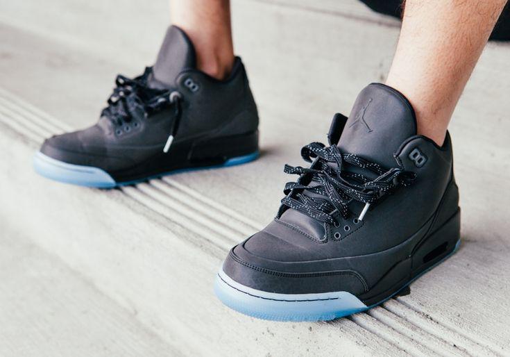 pretty nice 3404c 9461d ... jordan 5 lab 3 black on feet Air Jordan 5Lab3 Black On Feet Images Dope  shi ...