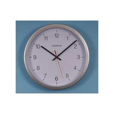 Radio Controlled Silver Plastic Clock 12