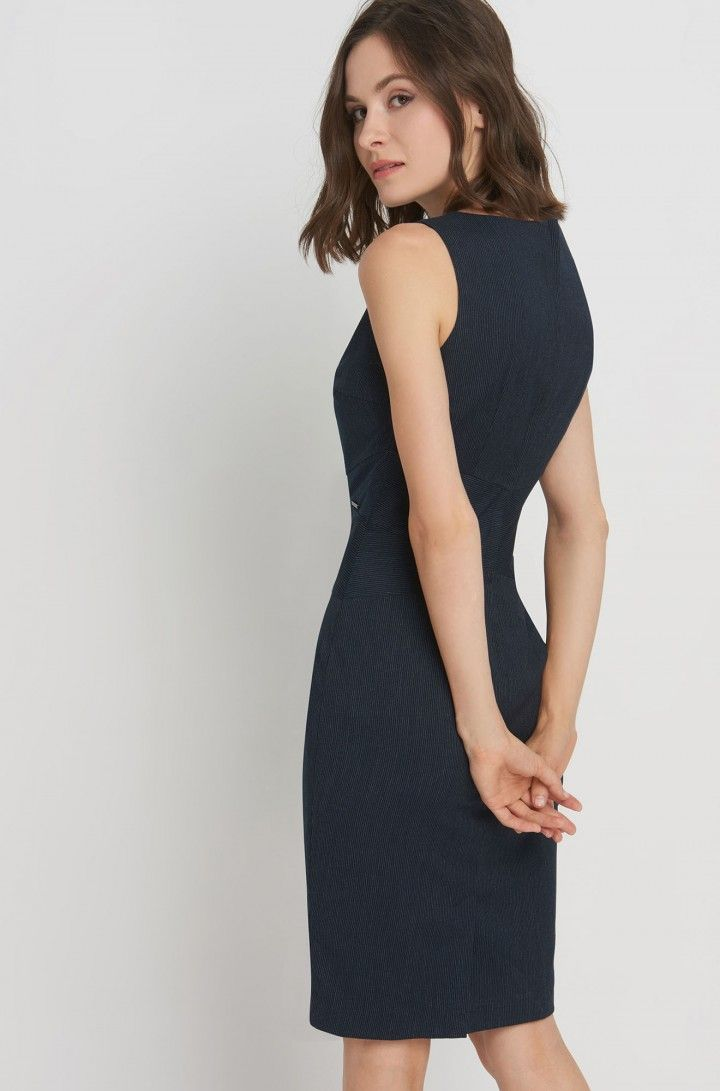 a452821380 Business Bleistiftkleid | ORSAY | Business look | Fashion, High neck ...