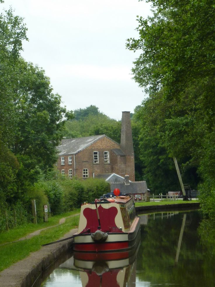 Cheddleton on the Caldon Canal.