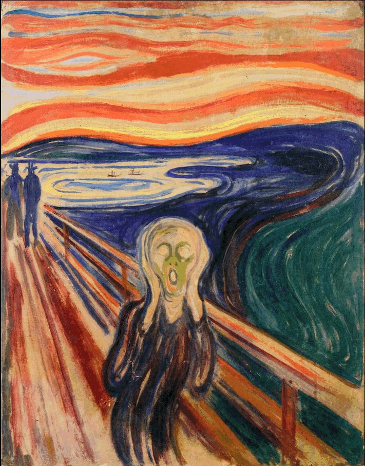 The Scream 1910. Edward Munch (1863-1944)   Expensive