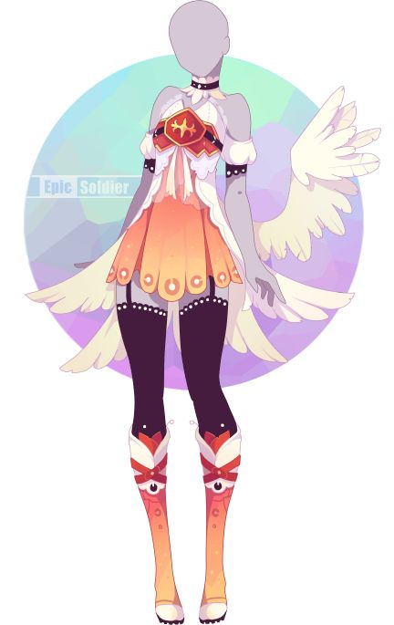 Outfit adoptable 62 (OPEN!!) by Epic-Soldier | Anime ...