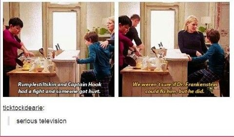 Only those who watch Once Upon A Time (aka Oncers) will get this.  To anyone else this makes absolutely no sense.