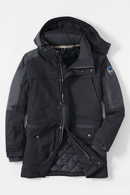 Men S Expedition Down Parka From Lands End Josh Coats