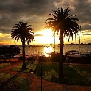 Silhouettes St Kilda style. | 33 Reasons Melbourne Is A Photographers Paradise