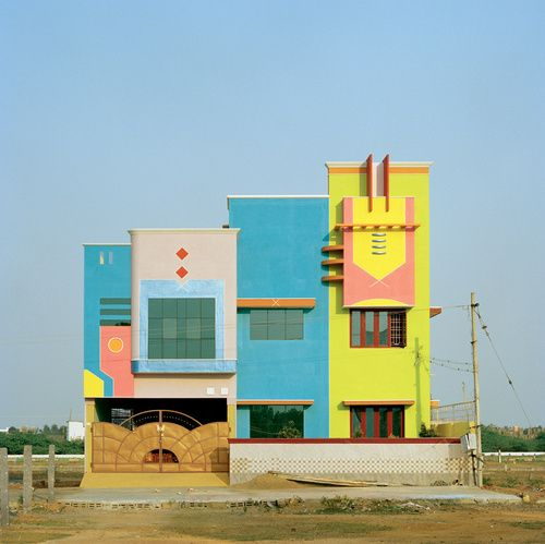 These Houses Incited The Post Modern Anarchy Of The U002780s. Indian  ArchitectureArchitecture ...