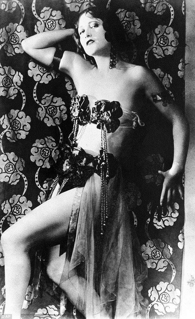 Star with a past: Joan Crawford (above in 1926) starred in multiple stag films prior to h...