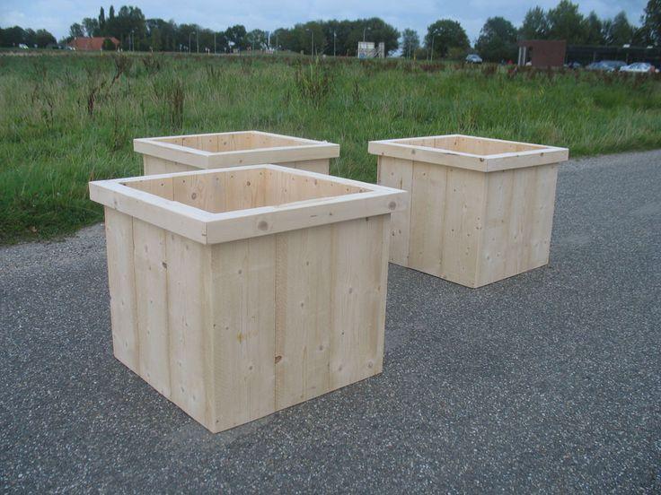 houten plantenbak voortuin - Google zoeken