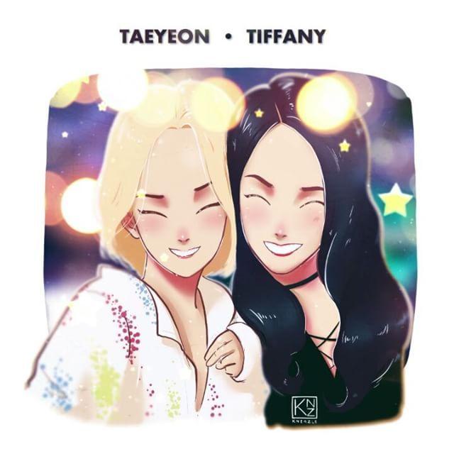 TaeyeonTiffany Taeyeon Ss Xolovestephi Illustration Tiffany