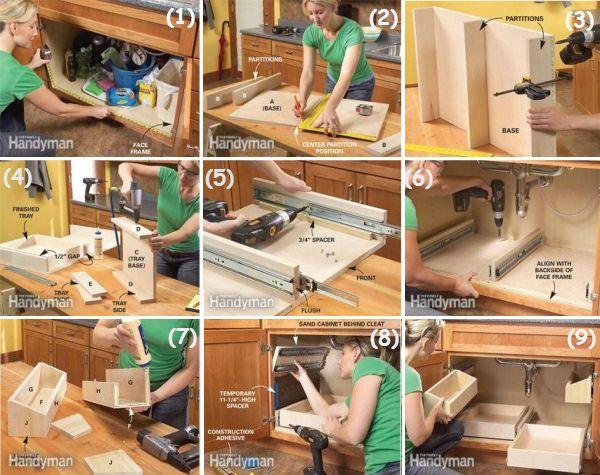 Kitchen Storage Diy 47 best kombuis diy images on pinterest | kitchen ideas, home and