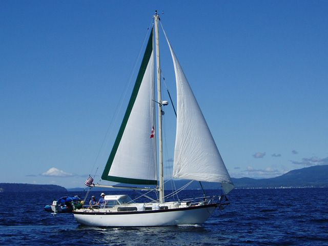 Rawson 30  Cordelie  Home Port: Santa Cruz Boat Type: Sailboat Manufacturer: Rawson Boat Model: Rawson 30 Boat Length: 30 Boat Year: 1961 Boat Designer: Garden