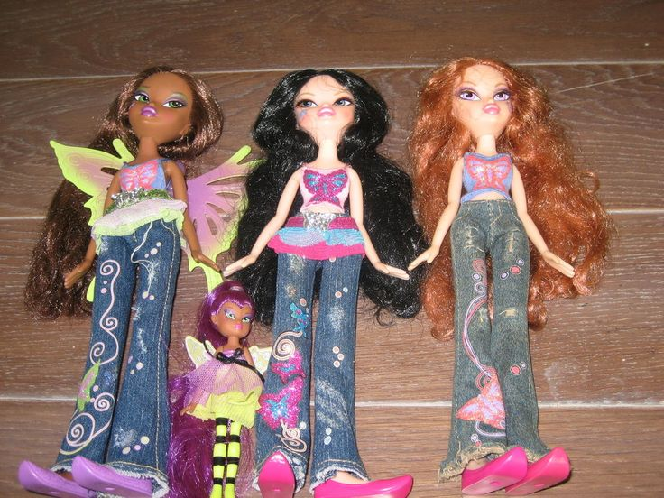 Rare bratz fashion pixiez 4 dolls lot 39 salem 39 s lot Bratz fashion look and style doll