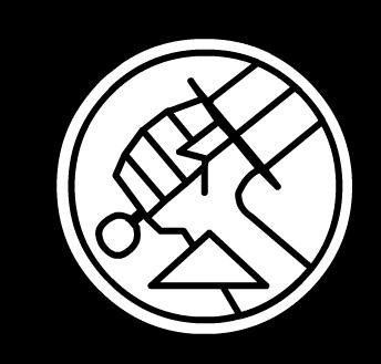 "BPRD (Bureau for Paranormal Research and Defense) logo, from HELLBOY  Similar to Clann Gunn crest would like this with clan logo ""Aut Pax, Aut Bellum"" (Either Peace or War) on it"