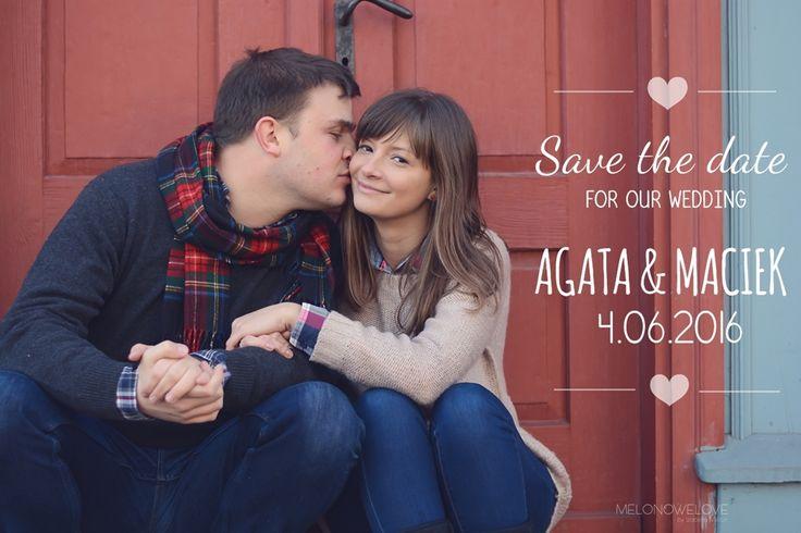 sesja narzeczeńska, save the date