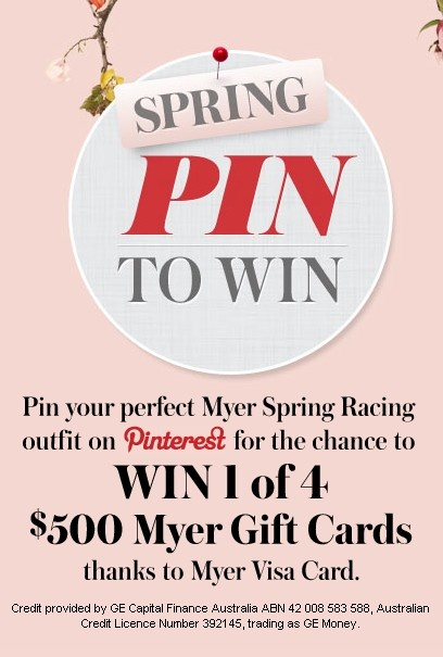 what does your ultimate Myer spring racing outfit look like?