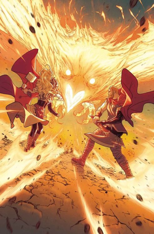 The Mighty Thor & Odinson vs The Phoenix Force