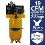 Industrial Plus Series 80 Gal. 5 HP 2-Stage Vertical Stationary Electric Air Compressor