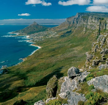 Cape Town South Africa, I was there twice in my life, wish I could go again...