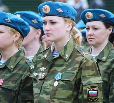 russian woman soldier petition of