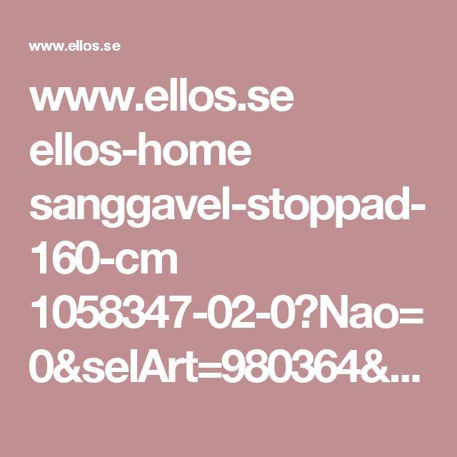 www.ellos.se ellos-home sanggavel-stoppad-160-cm 1058347-02-0?Nao=0&selArt=980364&Ns=RankValue3%7C1&N=1z13rviZ1z141ll&pr=0C1B2S3T