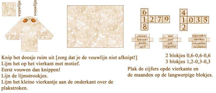 MINIDESIGN: Zoekresultaten voor eeuwigdurende kalender