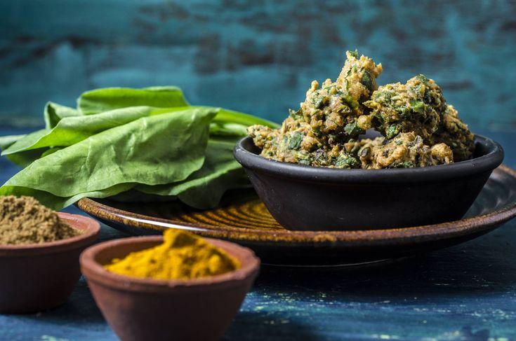 Palak Bhajia Recipe (Spinach Pakoras)