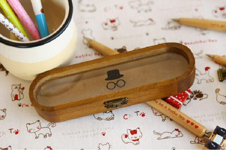 !!! Новый ретро деревянные ручки пенал чехол классический канцелярские коробка 2015 большое продвижение по службе, принадлежащий категории Пеналы для карандашей и относящийся к Офисные и школьные принадлежности на сайте AliExpress.com | Alibaba Group