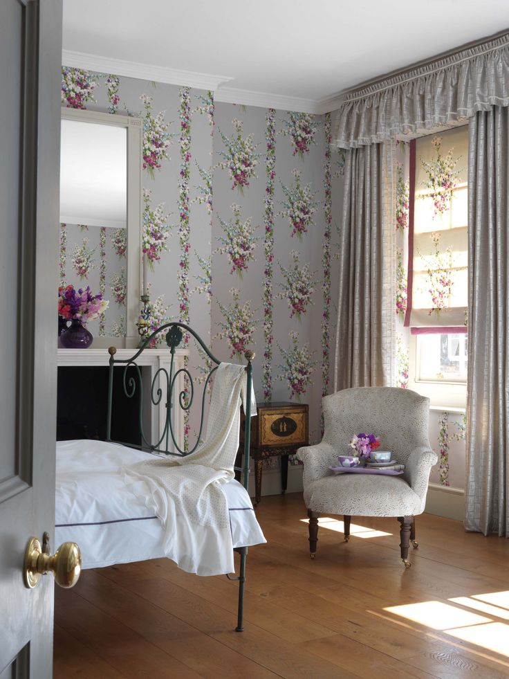 Suzhou collection by Nina Campbell - available from Rodgers of York #interiors #wallpaper