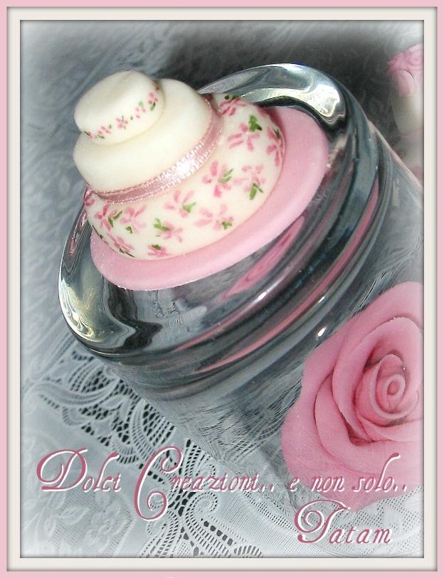 "Miniature cake dipinte a mano nei toni del rosa ""shades of pink"""