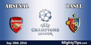 Arsenal Vs Basel Video Streaming & Highlights UEFA Champions League