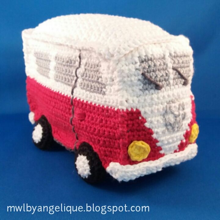 made with love: VW van