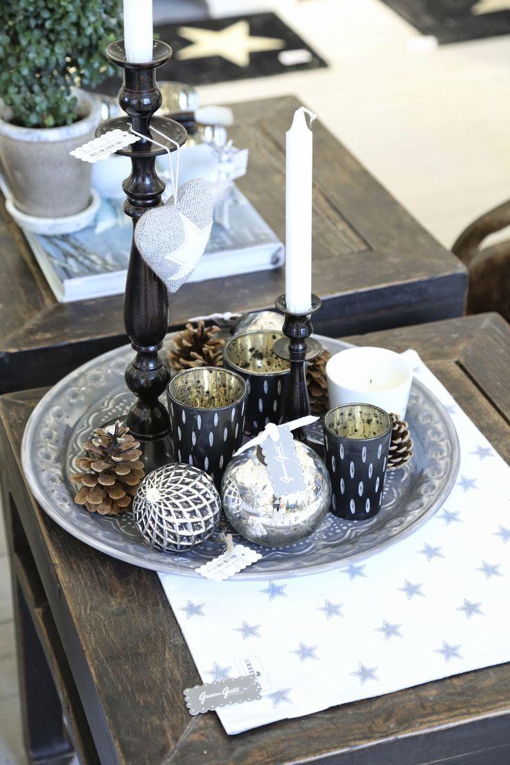 die besten 25 kerzenleuchter silber ideen auf pinterest silber deko deko weihnachten wei. Black Bedroom Furniture Sets. Home Design Ideas
