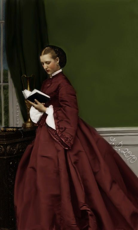 Princess Alexandra of Wales, nee of Denmark, future Queen of England, consort of Edward VII.