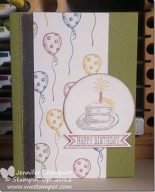 Sketched Birthdays Birthday card