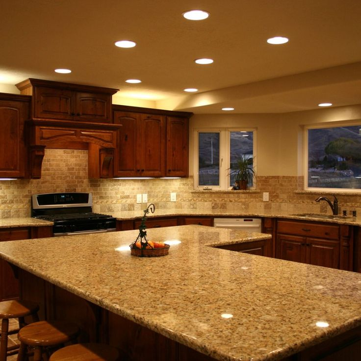 If you are planning to have granite counter tops in your kitchen, at that point you are reading the privilege supportive article. This time, we are going to investigate a few cases of lovely present day kitchen, finished with granite countertops on the kitchen island or kitchen vanity. Let`s begin with the primary picture given. It demonstrates an expansive great kitchen island hued in white. Smooth dark countertop produced using granite embellishes its top. Bolstered by implicit sink and…