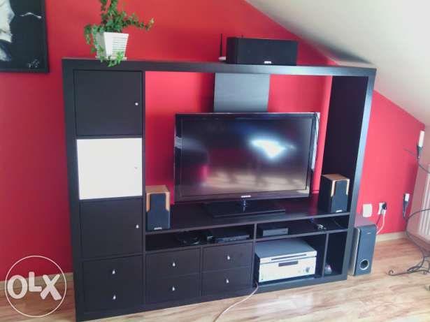 Ikea Mobel Wohnwand ~ Ikea lappland wohnwand schwarzbraun fernseh schrank *super zustand
