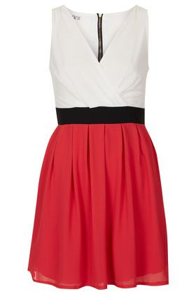 **Cross Bust Dress by Wal G