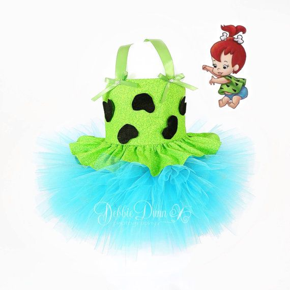Pebbles TuTu Dress New two piece outfit 12m 3T di AndProps