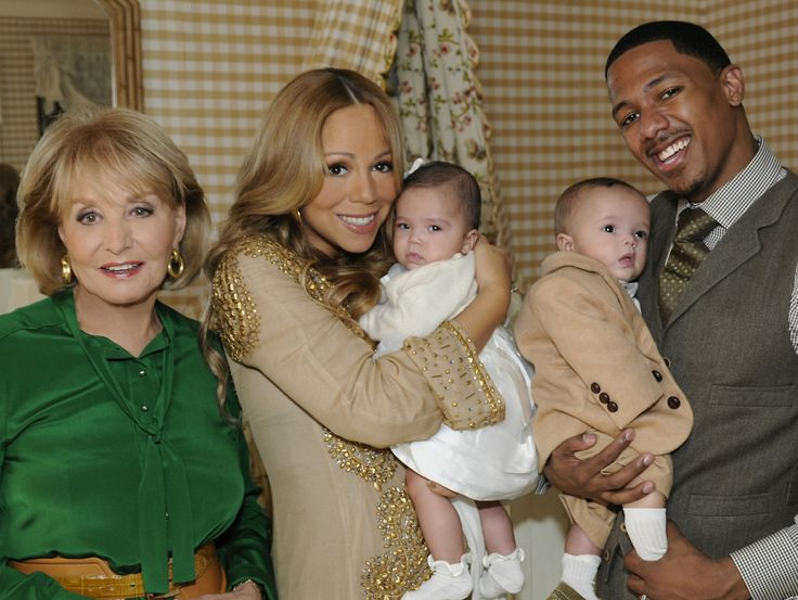 ABC NEWS - Barbara Walters interviews pop superstar Mariah Carey and her husband Nick Cannon(Photo by Donna Svennevik/ABC via Getty Images) via @AOL_Lifestyle Read more: https://www.aol.com/article/entertainment/2017/07/14/nick-cannon-broken-shattered-mariah-carey-breakup/23029928/?a_dgi=aolshare_pinterest#fullscreen