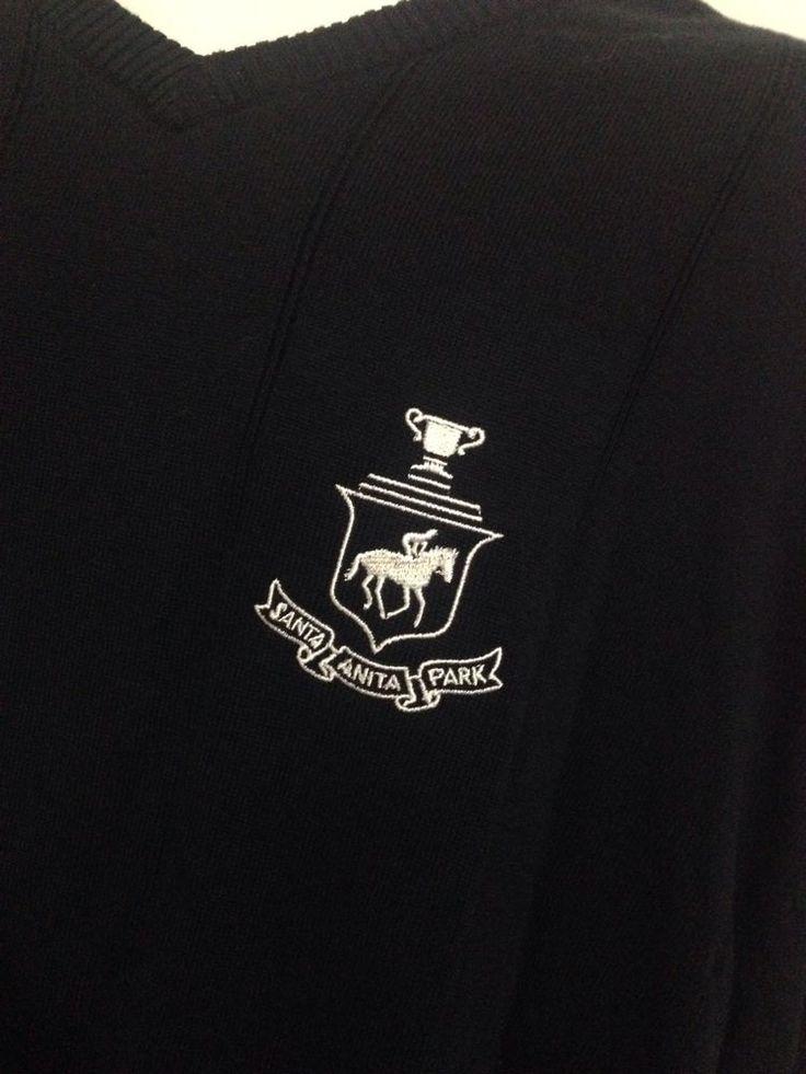 Santa Anita Horse Racing Sweater Size XXL #Baypointe