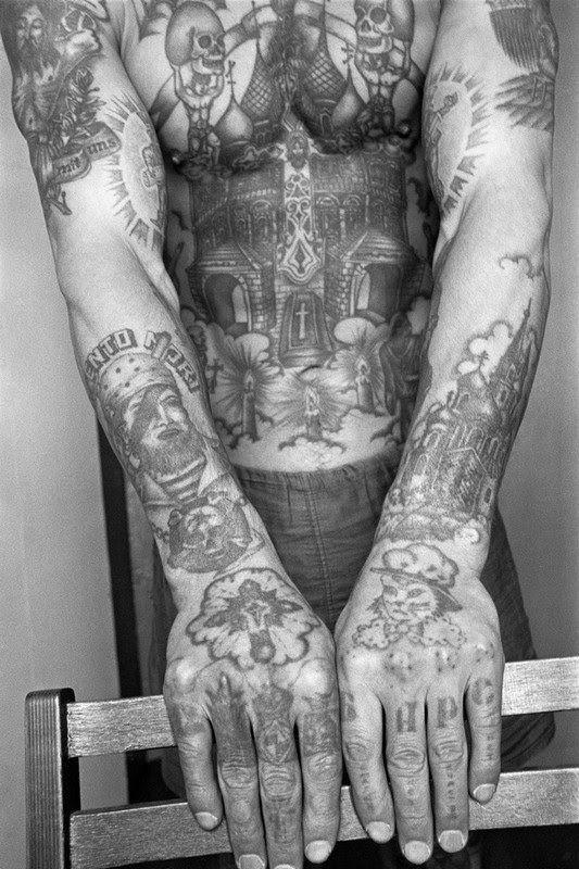 Tatuajes Carcelarios Rusos Sergei Vasiliev 13