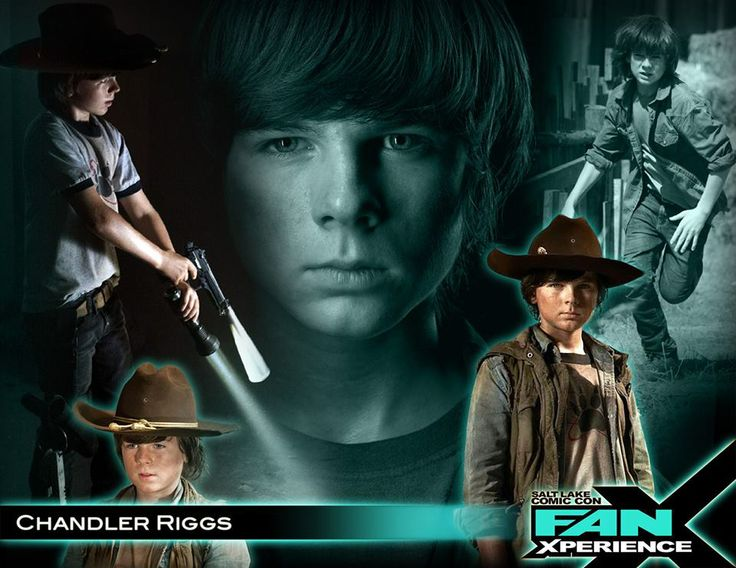 Please welcome Chandler Riggs to our 2014 Salt Lake Comic Con FanXperience (#FanX). Chandler is best known for his role as Carl Grimes in #TheWalkingDead!