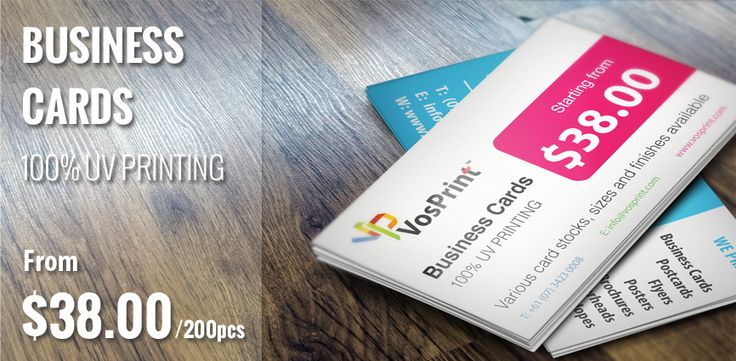 Business Cards 100 Uv Printing From Aud 38 00 200pcs Businesscards